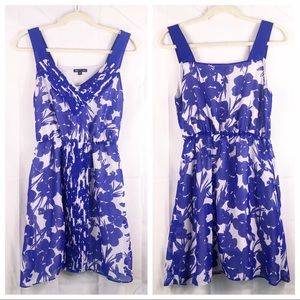 The gap floral print dress with pockets, size smal